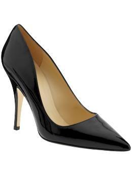 aa6da43fd93f Black patent heels · Kate Spade New York Licorice ...
