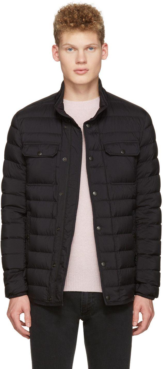 moncler valence jacket black