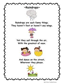April Poems and Songs | April poems, Preschool songs