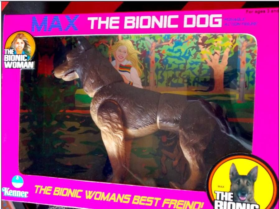Max The Bionic Dog Toy