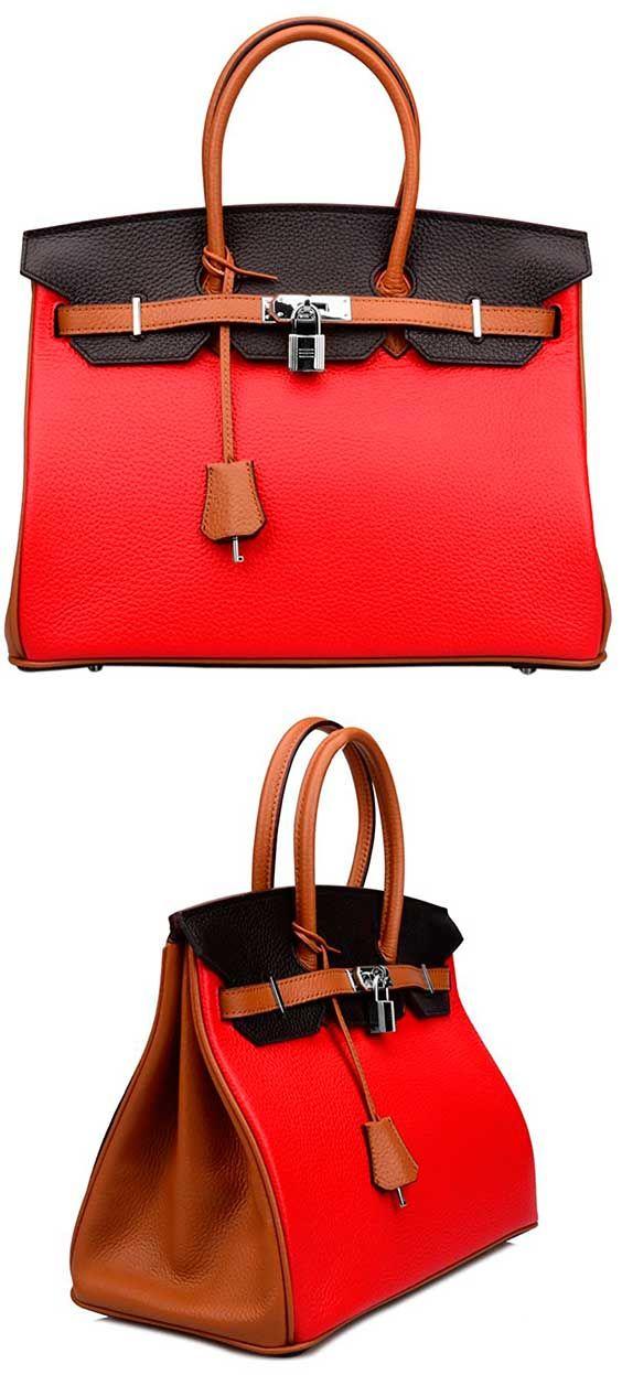 b2cbd96a445e Ainifeel Women s Padlock Handbags - Best Doctor s Bag Top-Handle Shoulder  Bag  Ainifeel  Top-Handle  Bag  Tote  ShoulderBag  Handbag  Leather  Doctor   Red   ...