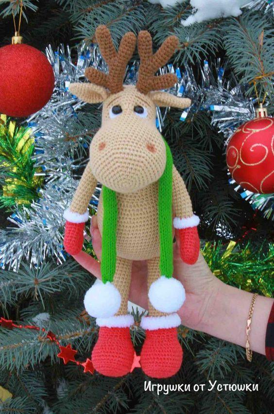 15 Ideen für das Häkeln von Hirsche #crochetelements