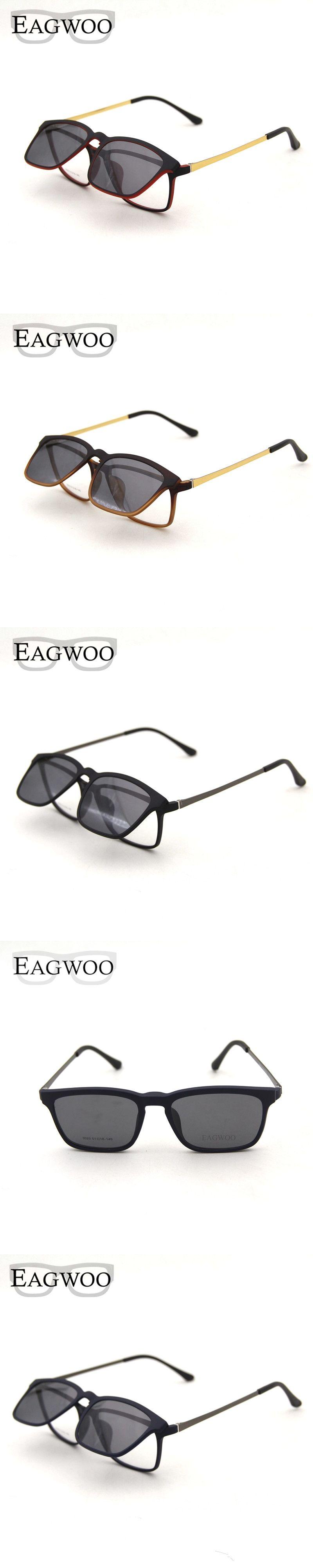 297aa48531 Magnet Eyeglasses Full Rim Optical Frame Prescription Spectacle Vintage Men  Myopia Eye Glasses Sunglasses Anti Glare
