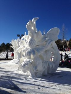 3rd Place at the International Snow Sculpture Championships in Breckenridge: Team Wisconsin