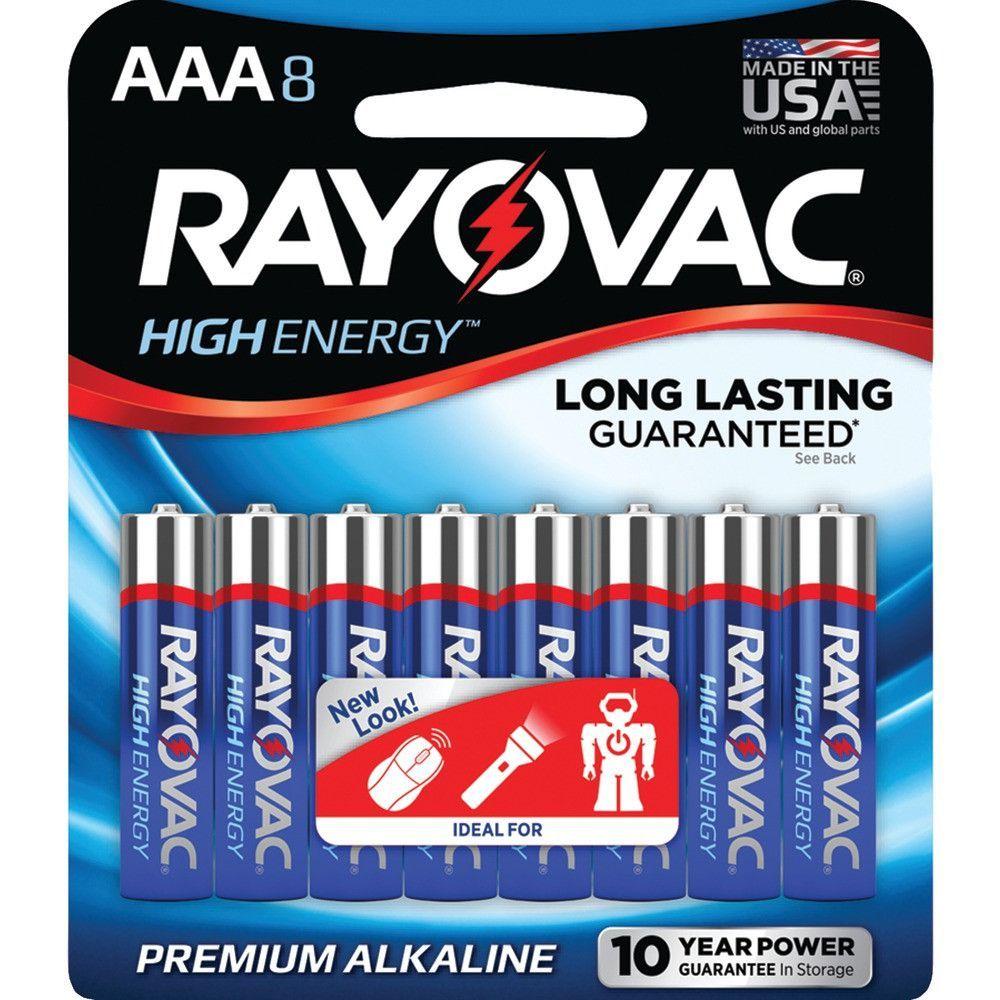 Rayovac Aaa Alkaline Batteries (8 Pk) Alkaline battery