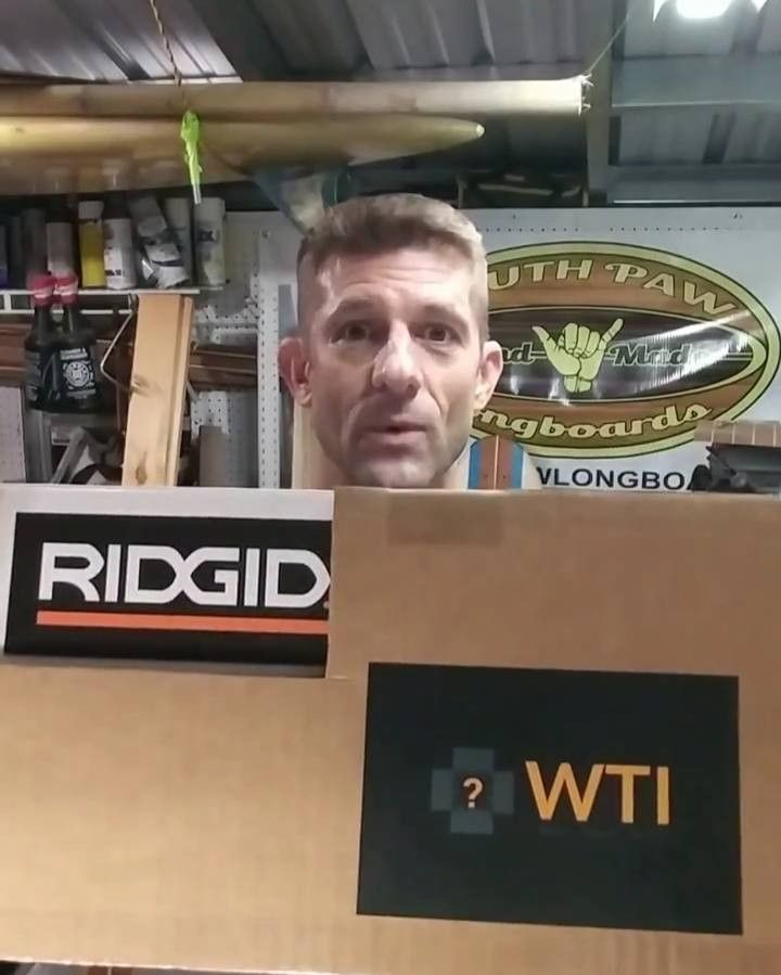Jan. 19th Giveaway  Todays @ridgidpowertools giveaway is presented by @southpawlongboards and provided by @whattoolsinside  Guess the Model # and post your answer in the WTI App ONLY  Watch our IG stories for extra clues throughout the day Don't forget to save this video so you can come back to it later  Don't have the App? Get it here at www.whattoolsinside.com Have fun!