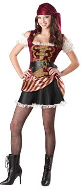 In Character New Teen Girls Caribbean Pirate Halloween Costume L - ic14027  sc 1 st  Pinterest & In Character New Teen Girls Caribbean Pirate Halloween Costume L ...