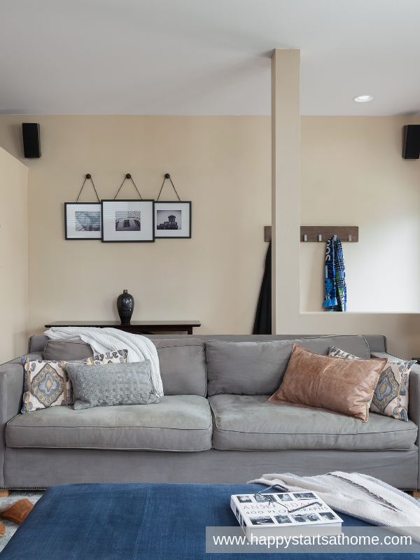 Warm and Masculine Great Room | Living room design decor ...