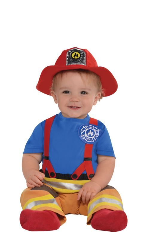 Baby First Fireman Costume Party City Costumes Amp Make