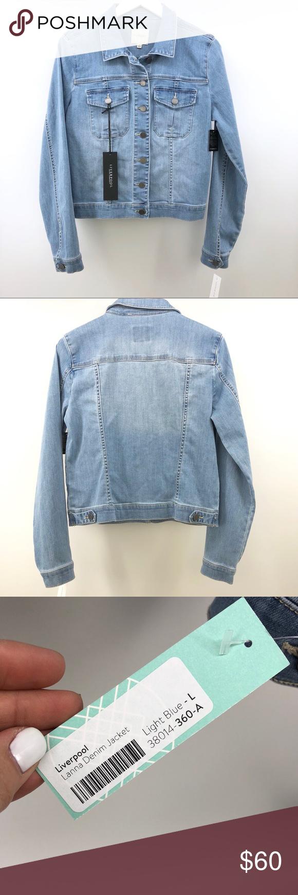 Liverpool Denim Jacket L Lanna Stitch Fix New Nwt Denim Jacket Liverpool Jeans Liverpool Jacket [ 1740 x 580 Pixel ]