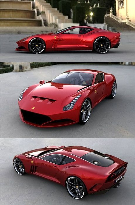 Cool Cars Sports 2017: Ferrari 612 GTO. Anything In Red Is A Yes For Me :)  Fearsome Ferrari   Cars Awesome Cars   Pinterest   Ferrari 612, Ferrari And  Cars