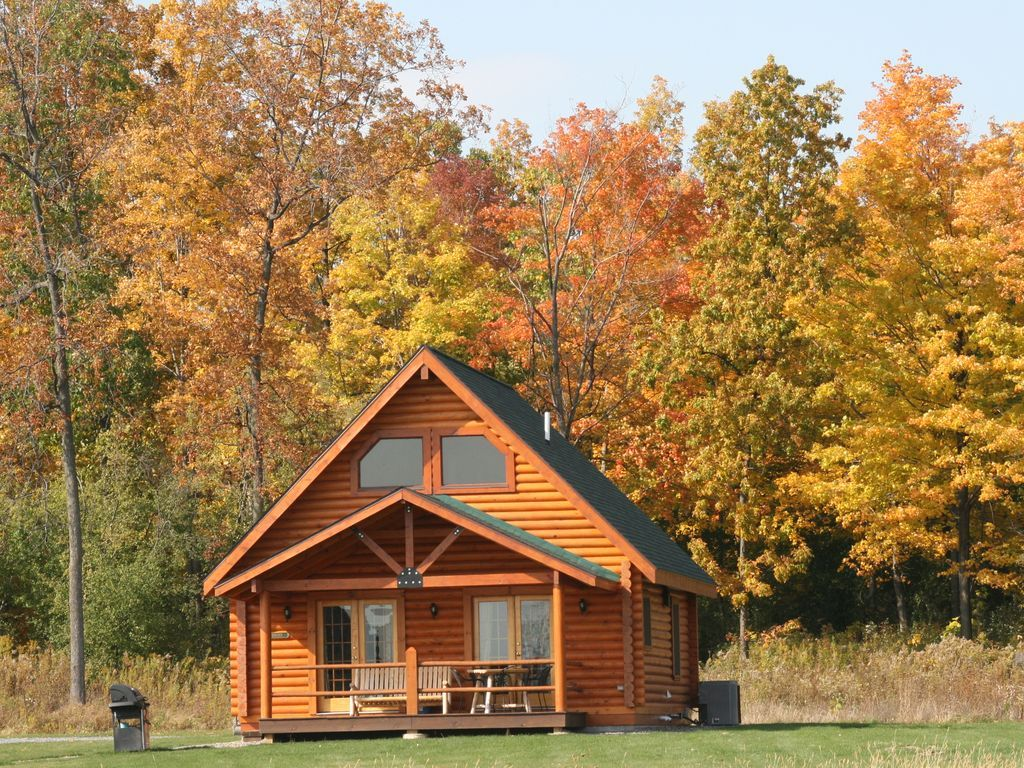 vacation ny in rentals cabins george cramer sale point rental rent log cabin a on assembly bay lake for homes