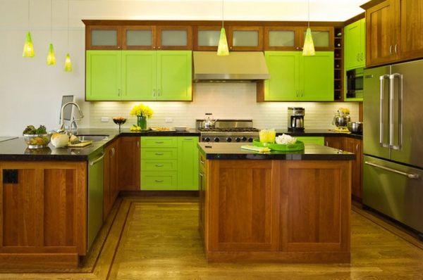 160 neue küchenideen blaue und grüne farbe  archzine