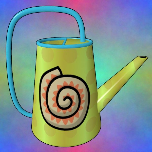 Shell Watering Can