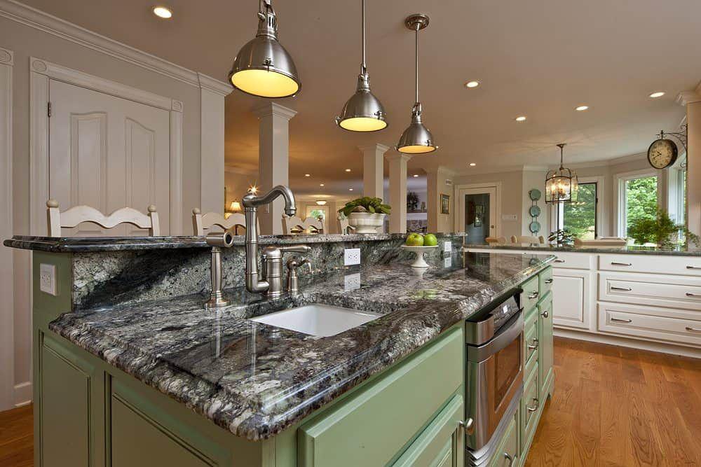 Die Beliebtesten Granit Küchenarbeitsplatten im Gegensatz zu ...