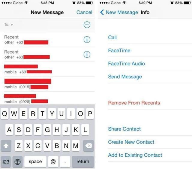 How to Remove Deleted Contacts from iPhoneu0027s Recent Contacts List - contact list
