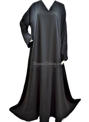 fe9a07e459d We are restocking this Asiah abaya with a nicer and better quality fabric.  This new
