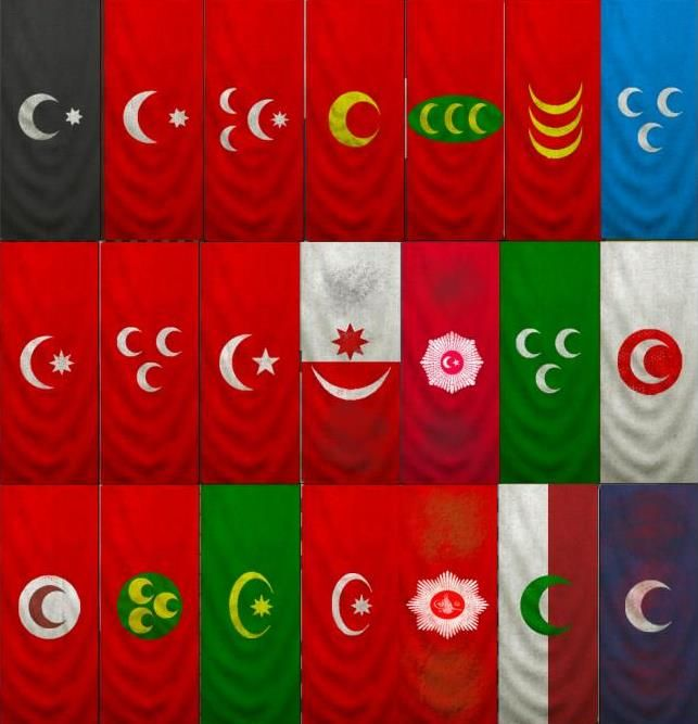 Image result for ottoman flag with stars