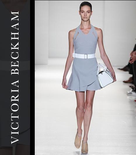 Off the NYFW runway: Victoria Beckham Spring 2014