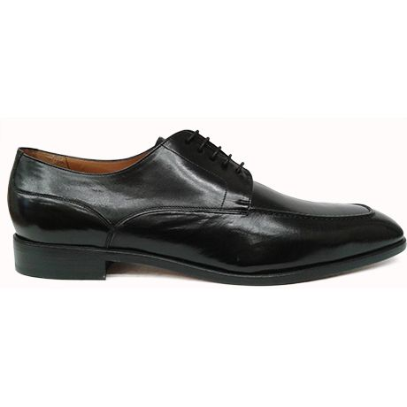 con Yanko lateral bordón vista blucher de tafilete Zapato en negro BwZnq7