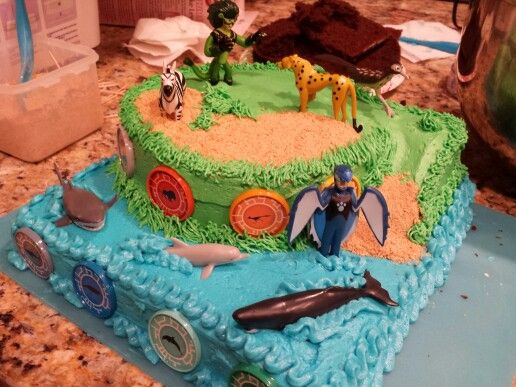 Wild Kratts Birthday Cake For Mr Isaac My Cakes In 2019