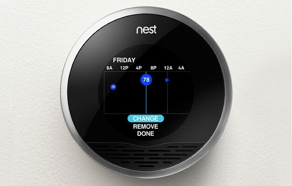 Nest Energy Efficient Thermostat Thermostat Smart Thermostats Nest Smart Thermostat