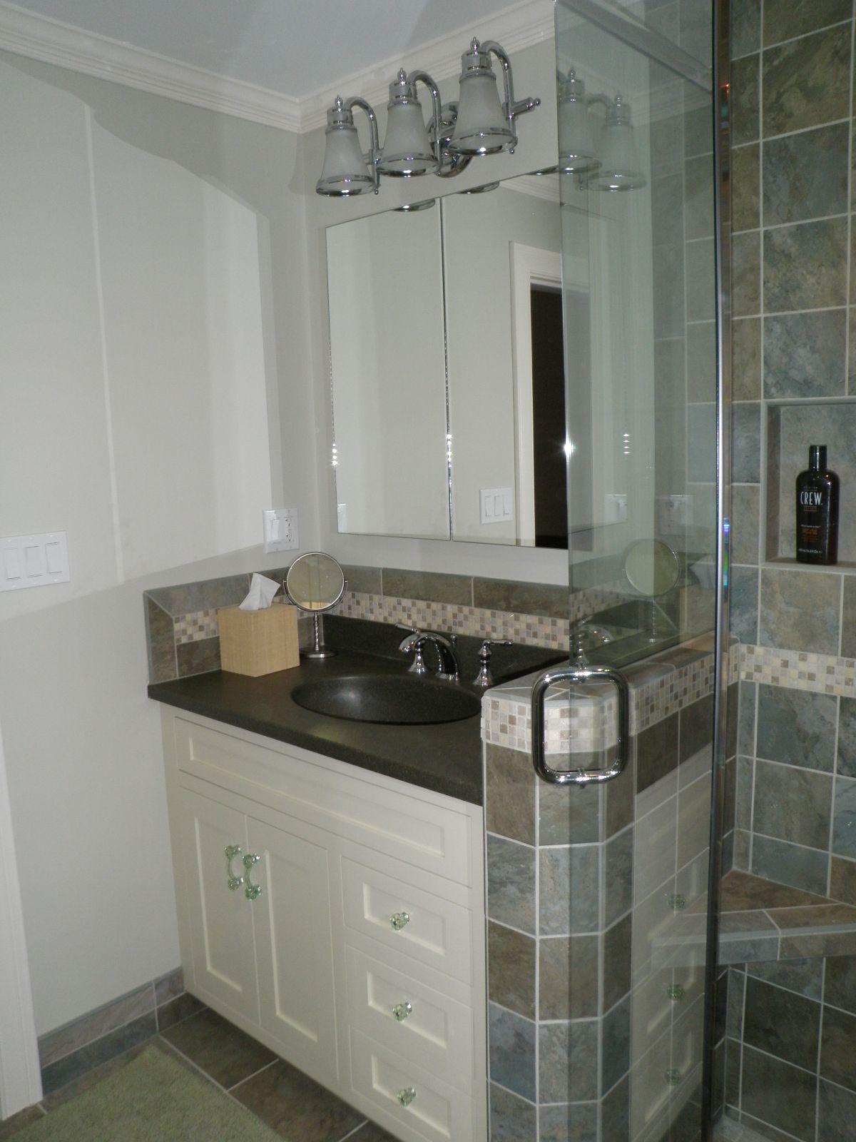 Small Custom Bathrooms
