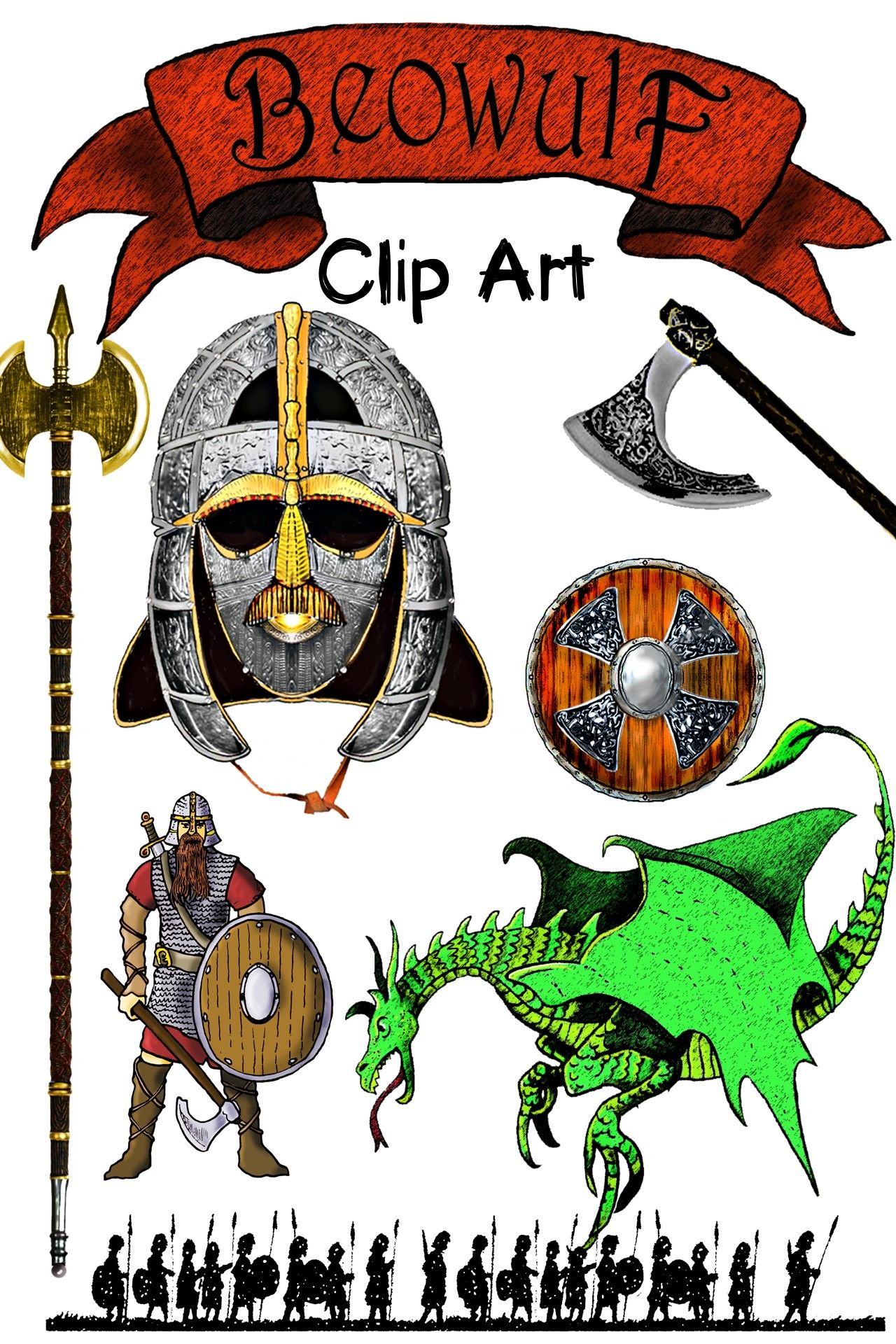 beowulf clipart senior english pinterest bulletin board clip rh pinterest com bulletin board design clipart church bulletin board clipart