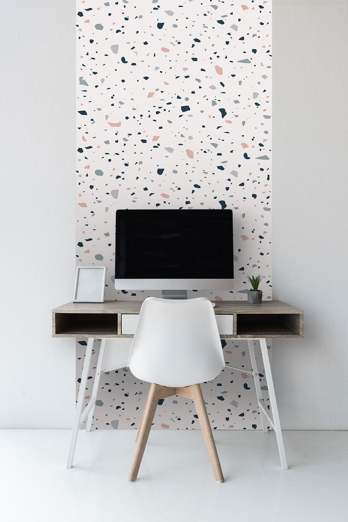 Sticker wallpaper easy DIY apply Paper free peel and stick