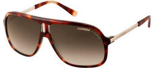 761c46830a Carrera Carrera 40 908 Havana Light Brown Gold Carrera 40 Square Sunglasses  Len    You