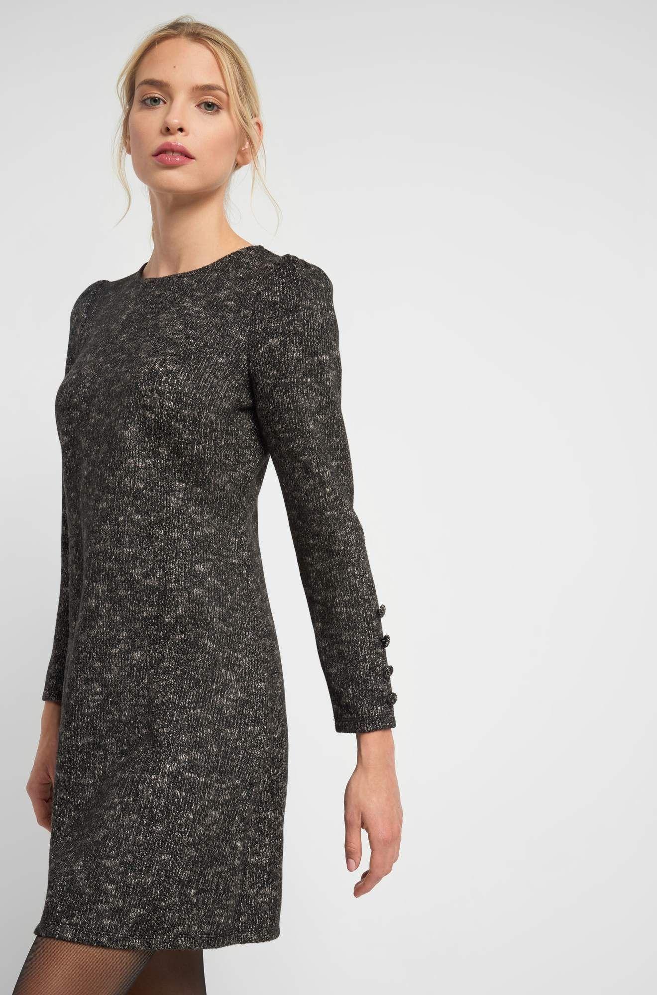 kleid in a-linie in 2020 | kleider, schicke kleider, models