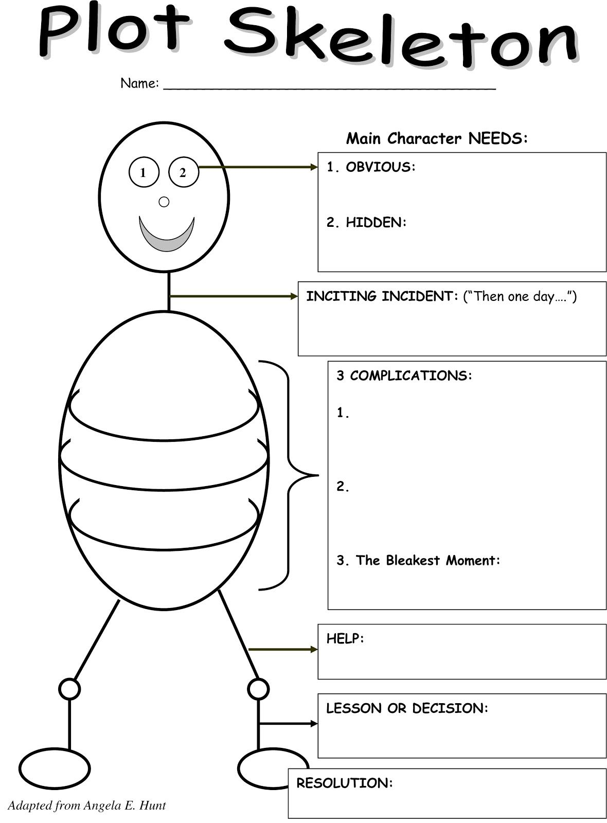 Story Outline Template For Kids Kids