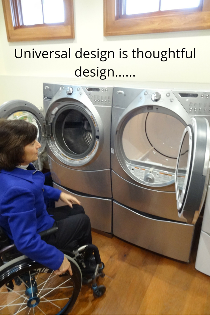 5 Essential Tips For A Universal Design Laundry Room Part 2 Of A 3 Part Series Universal Design Wheelchair Friendly Handicap Accessible Home