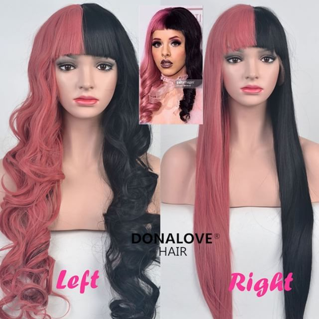Donalove New Wigs Melanie Martinez Hair Inspired Which Style You Like Better Girls Straight Or Wavy Www Donalovehair Com Wig Styles Wigs Hair