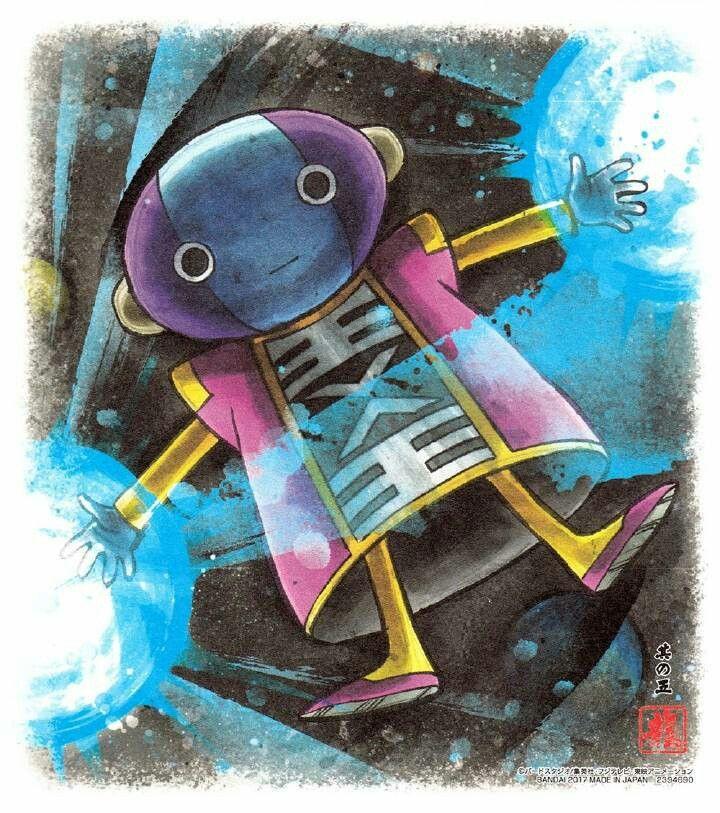 Zeno King Of The Universe Dragonball Dragon Ball Dragon Ball