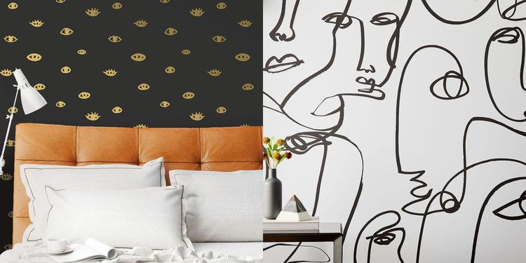 These Removable Wallpapers Will Make You Look Rich Here S Where To Buy Them Cosmopolitan Removable Wallpaper Removable Brick Wallpaper How To Look Rich