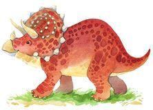 Illustration d'animal de dinosaure Photos stock