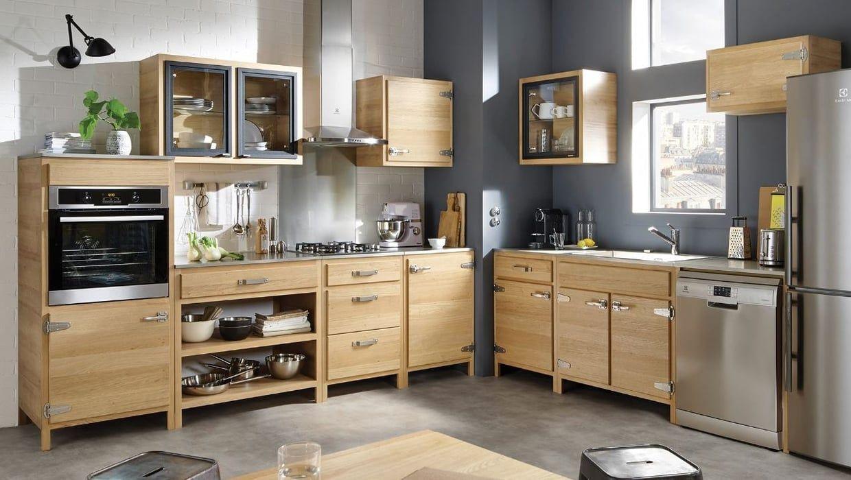 Cuisine b stro de conforama electromenager in 2019 cuisine bois cuisine bois moderne - Cuisine equipee conforama ...