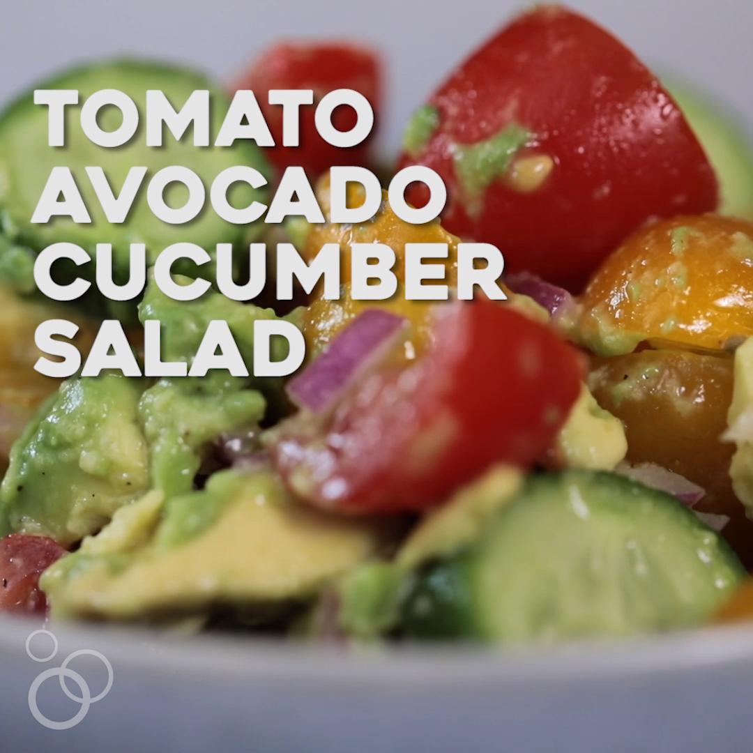 Tomato Avocado Salad images