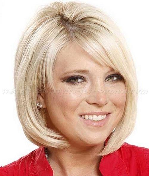 Medium Hairstyles For Mature Women Bob Haircut With Fringe Hair