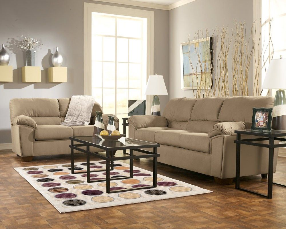 Mocha Living Room Decorating Ideas