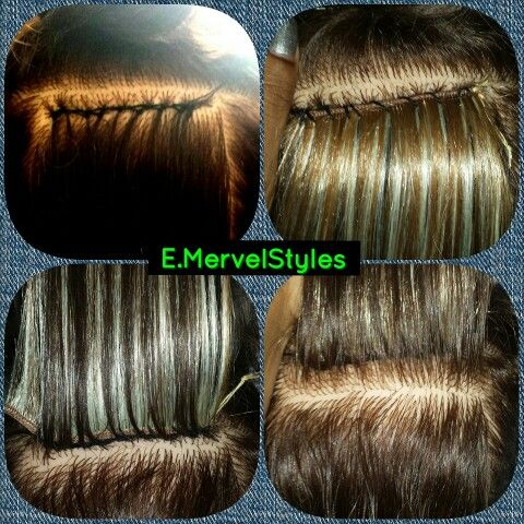 Braidless Sew In Preview Sew In Hair Extensions Hair Extension