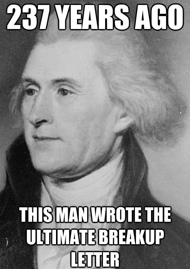 Image result for thomas jefferson funny
