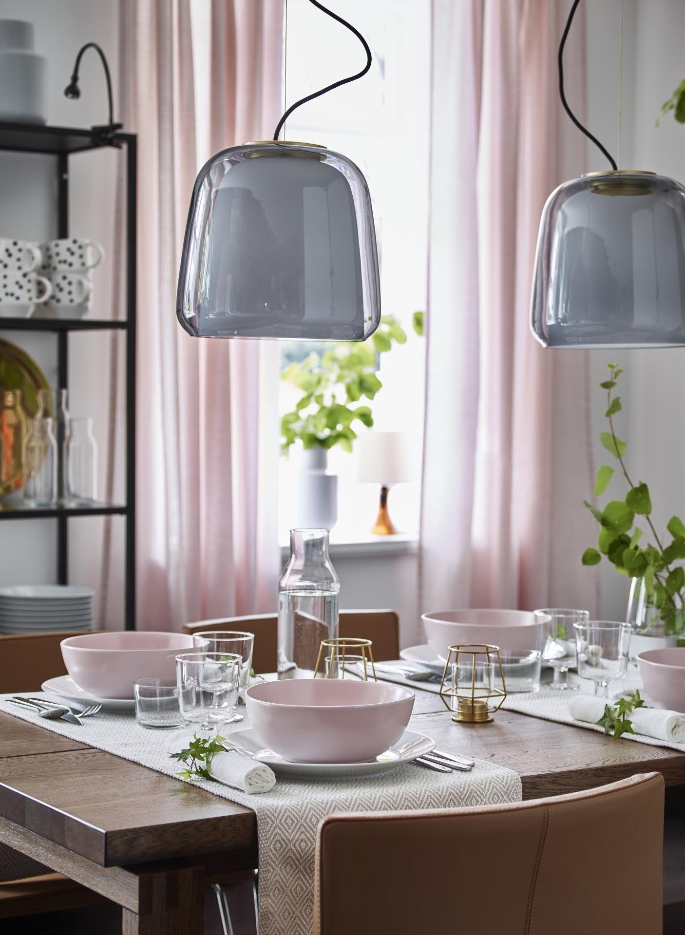 Evedal Hanglamp Grijs Ikea Hanglamp Ikea Ikea Inspiratie