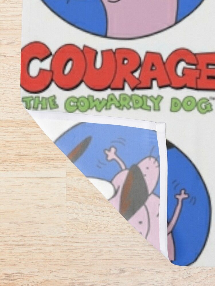 Courage The Cowardly Dog Shower Curtain By Alexwestshop With