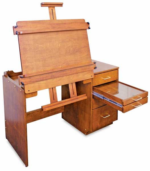 Craftech Sienna Multimedia Center Art Easels Workstations With Integrated Blick Materials
