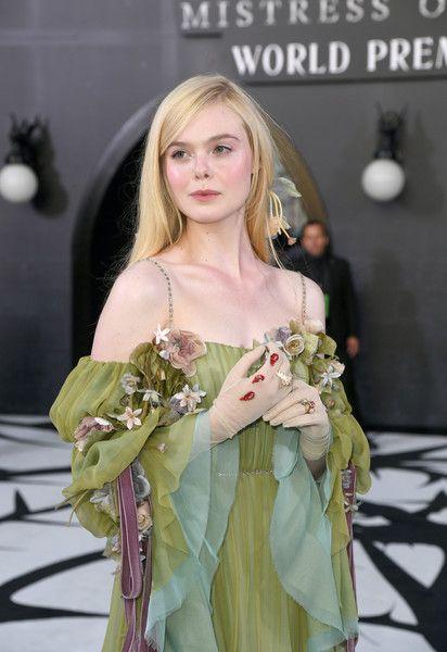 "Elle Fanning Photos - Elle Fanning attends the world premiere of Disney's ""Maleficent: Mistress Of Evil"