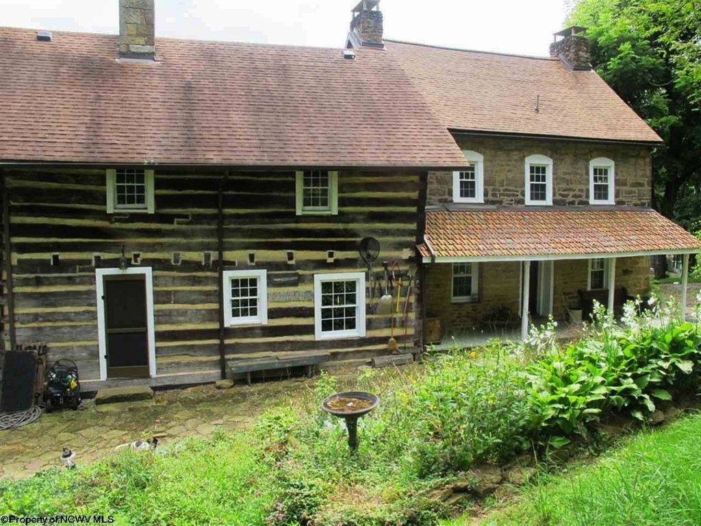 Historic Stone And Log Home Built In The 1700 39 S For Sale