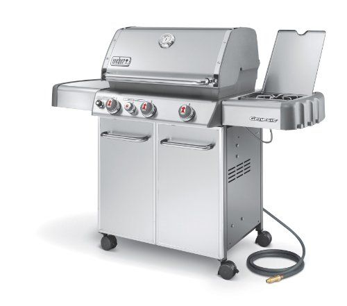 Weber Genesis 6670001 S 330 Stainless Steel 637 Square Inch 38 000 Btu Natural Gas Grill Weber Http Www A Natural Gas Grill Best Gas Grills Gas Grill Reviews