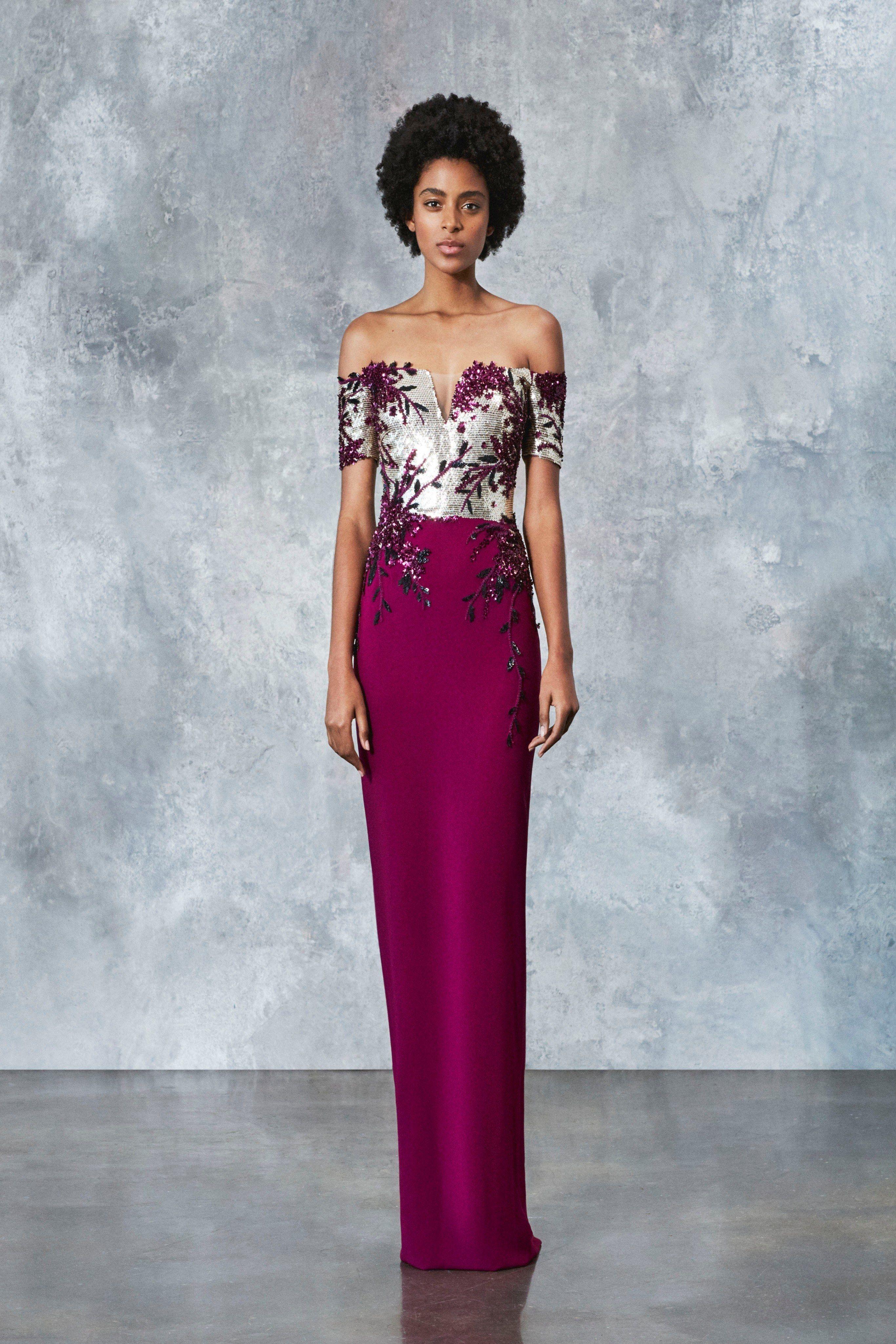 Pamella Roland Resort 2019 New York Collection - Vogue   Dress ...